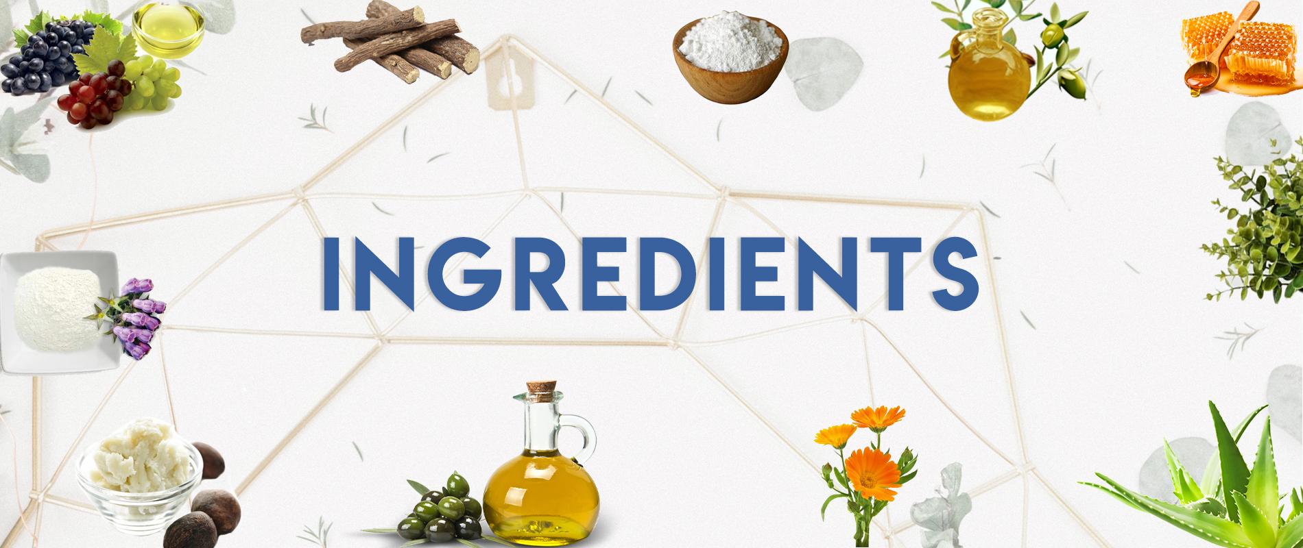 Ingredients Banner